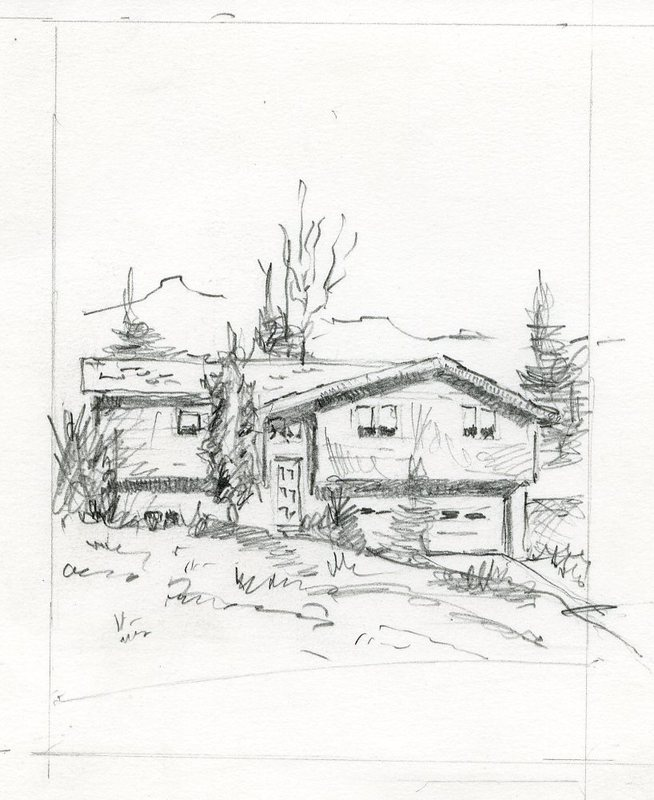 House on Dawn Drive in Anchorage