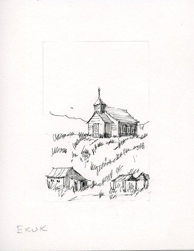 Sketch of St. Nicholas Chapel
