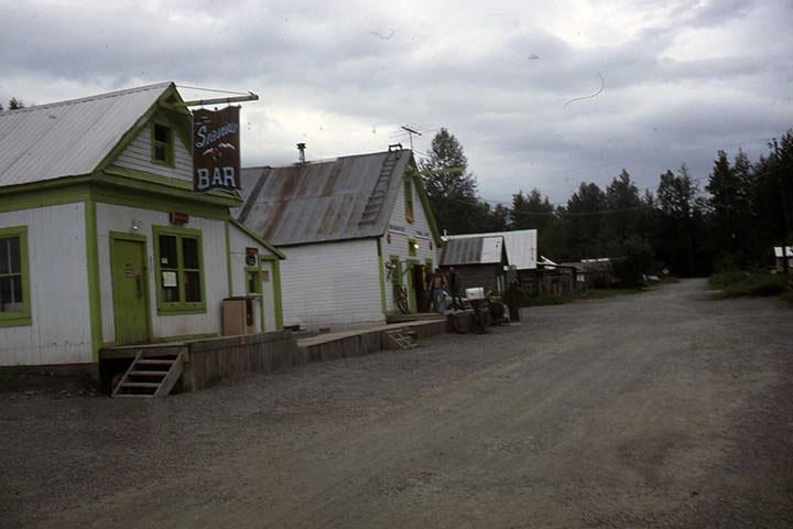 Seaview Bar in Hope, 1982
