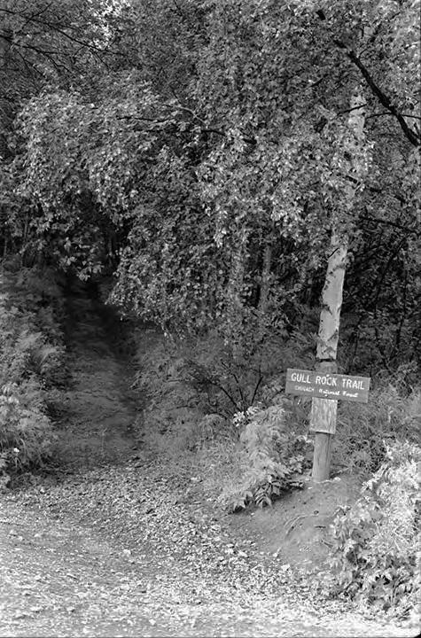 Gull Rock Trail, circa 1971