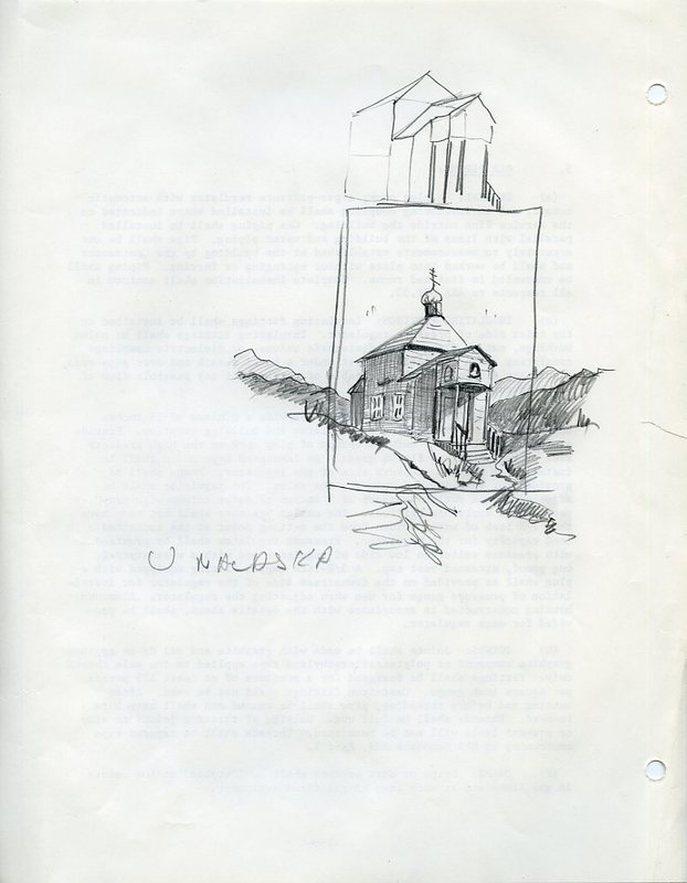 Original Holy Ascension of Our Lord Cathedral, Unalaska