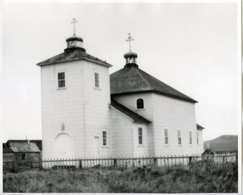 St. Nicholas Russian Orthodox Church in Nikolski