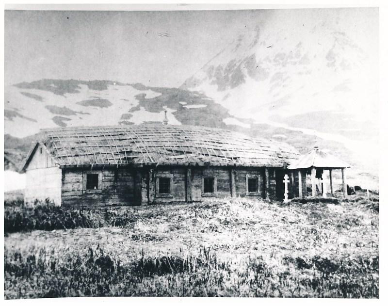Early Russian Orthodox Church American Chapel, Hogback Ridge, Massacre Valley