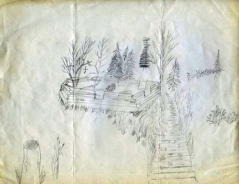 Branch River Village ruins