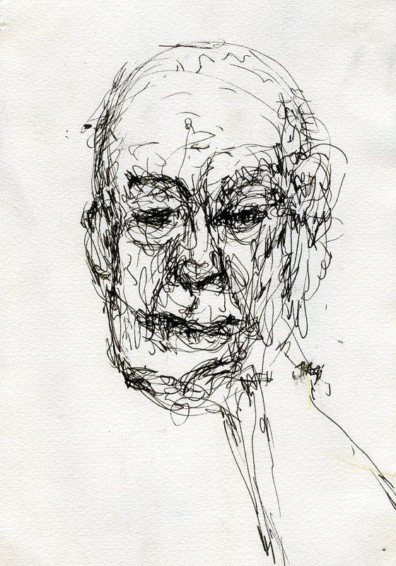 Self portrait of Sam McClain
