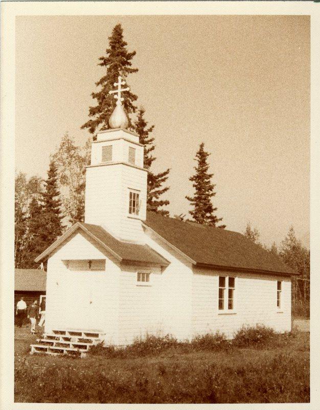 Eklutna Russian Church on Anchorage-Palmer Highway, St. Nicholas Russian Orthodox Chapel