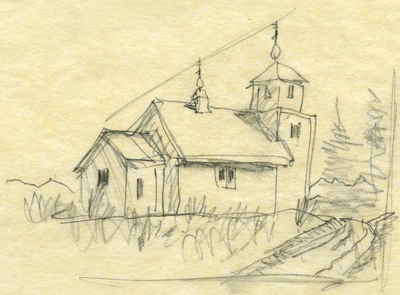 St. Nicholas Russian Orthodox Church, Tyonek, Alaska