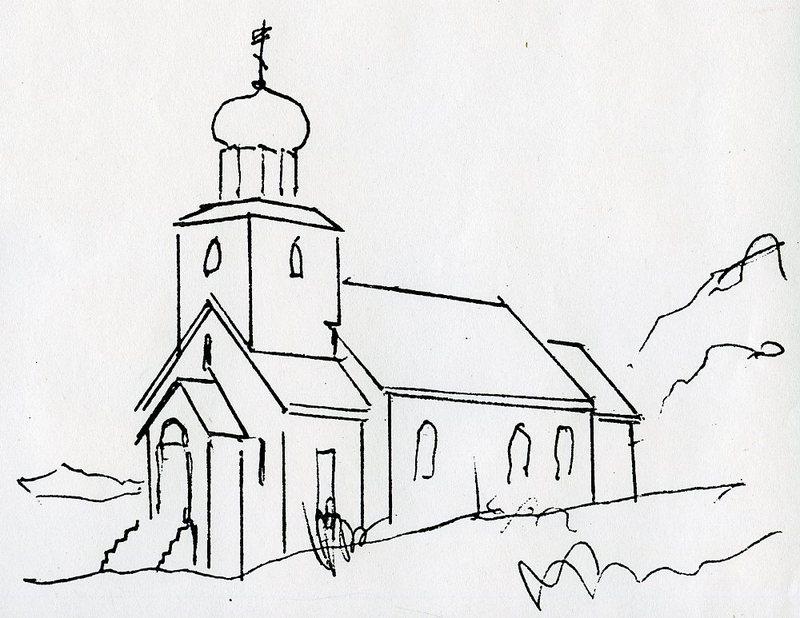 St. George Church, St. George Island