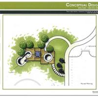 Proposed skate park plan, 2012