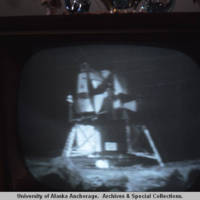First live satellite broadcast in Alaska, 1969