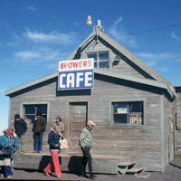 Brower's Cafe, Barrow 1978