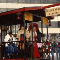 Golden Heart dancers during Fur Rondy, 1989