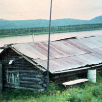 Trapper's cabin Ruby on Yukon River