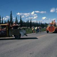Fourth of July parade, Tok, Alaska, 1978.