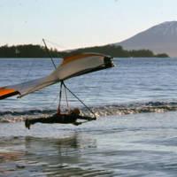 Sitka, Alaska, hang glider