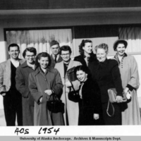 Alaska Communications System employees, 1954