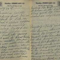 New York tourist travel diary entry, Beaver, Alaska, 1931