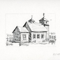 Sketch of Protection of the Holy Theotokos Russian Orthodox Church