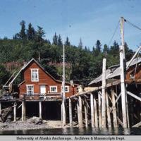 Fisherman's cabin, July 1953
