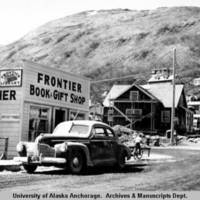 Frontier Book & Gift Shop building, Kodiak, 1945