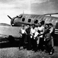 McGrath trip, July 4, 1943