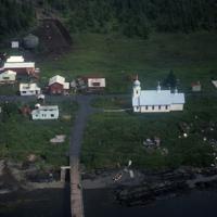 Aerial view of Tatitlek.