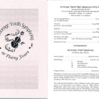 Anchorage Youth Symphony program, 1994
