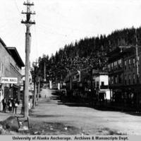 Cordova, Alaska street scene