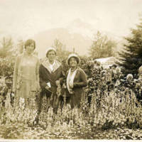 The Blanchard Gardens in Skagway, 1931