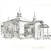 Sketch of Protection of the Theotokos Russian Orthodox Church