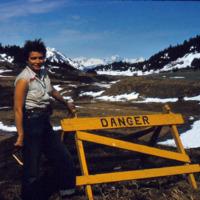 """Ruth Schmidt, """"Danger."""""""