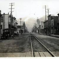 Skagway's main street, 1931