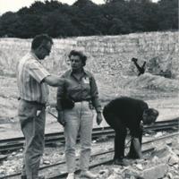 Ruth Schmidt in Czechoslovakia, 1968.