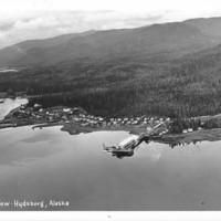 Air view of Hydaburg, Alaska.