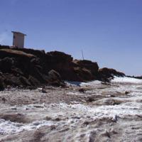Eroding coastline, Shishmaref
