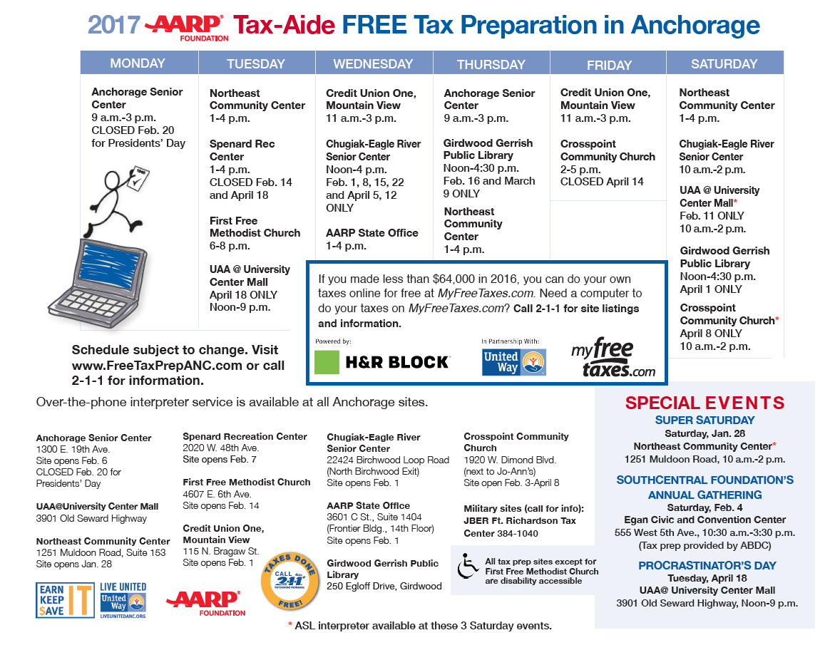 Tax forms and tax help reference news aarp tax aide falaconquin