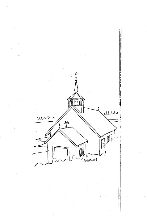 Sketch of St. John the Baptist Church