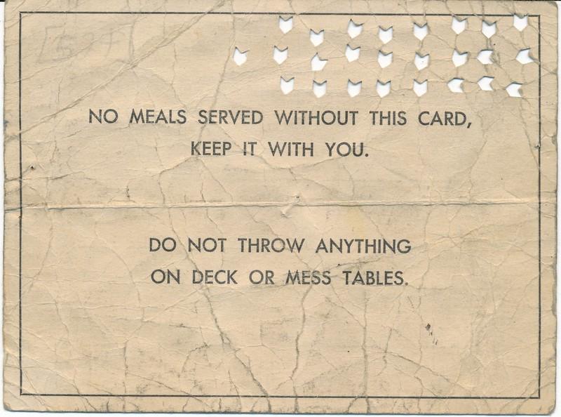Food Service Card
