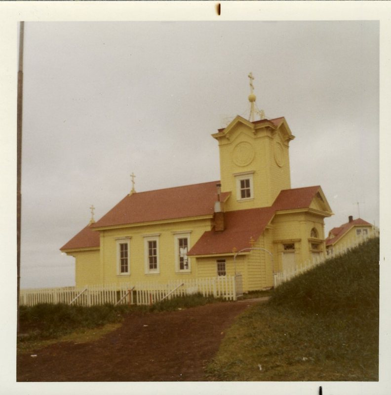 Saints Peter and Paul Church, St. Paul Island, Alaska.