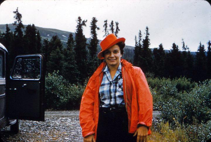 Ruth Schmidt, Willow Creek Road, Alaska.