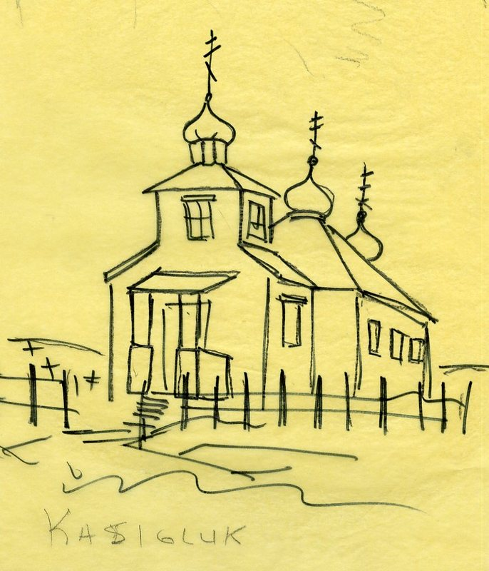 Sketch of Holy Trinity Church