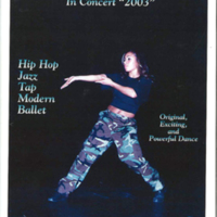 Dance Spectrum Alaska program cover, 2003