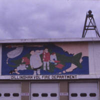 Dillingham Volunteer Fire Dept. Mural