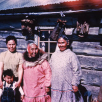 Unalakleet. Four generations<br />