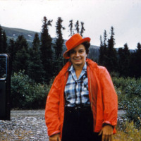 Ruth Schmidt, Willow Creek Road, Alaska.