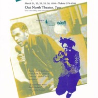 Poetry event flyer, 1996