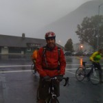 Start of 2nd day in rainy Seward